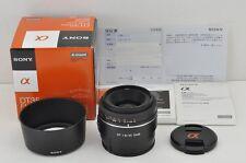 SONY DT 35mm F1.8 SAM SAL35F18 AF Lens for Sony Minolta Alpha Mount #170329n