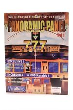 Panoramic Panel 777 is an add-on for Microsoft Flight Simulator 98 PC-CD-ROM