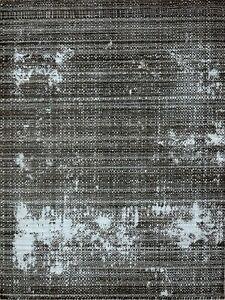 5'6 x 8' Rug | Handmade Dimak Dhurrie Wool & Pet Charcoal  Area Rug