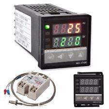 AC 100-240V Digital PID Temperature Controller & 40A SSR & K Thermocouple Probe