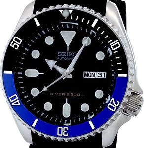 "Vintage Mens Watch SEIKO 7S26 Diver SKX Mod w/all Chrome ""Planet Ocean"" Hand Set"