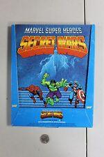 RARE Marvel Super Heroes Secret Wars Sticker Album & Store Display NOS Unused NM