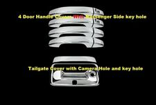 FOR 15~18 Chevy Colorado GMC Canyon Chrome 4 Door Handle Tailgate Covers W/C KH