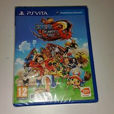 One Piece Unlimited World Red PS Vita New Sealed UK PAL Sony PlayStation PSV