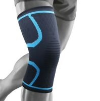 Pair Of Magnetic Knee Support Compression Sleeve Brace Arthritis Pain Relief