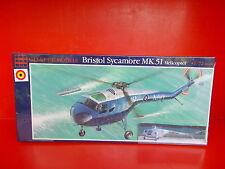 Belgian Air Force Bristol Sycamore MK.51  Glencoe Models - scale 1/72