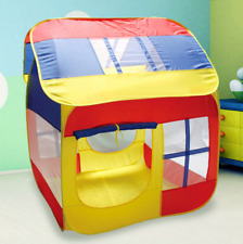 Kids Children Foldable Play Tent Castle Cubby Outdoor Indoor Playhouse Gift Toys