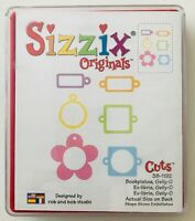 - SIZZIX ORIGINAL DIE BOOKPLATES 654978 FREE SHIPPING BRAND NEW