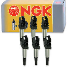 6 pcs NGK 48705 Ignition Coil for U5055 UF522 133825 00124 00044 2505-424598 hp