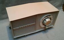 VINTAGE 1959 MOTOROLA  Model  A2P41 pink  AM  tube radio  serviced - works great