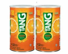 Tang Orange Drink Mix, 72oz Cannister (makes 22 qts.) 2Packs