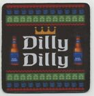 Dilly Dilly Bud Light Beer COASTER - Pit of Misery - Budweiser Bier Ugly Sweater