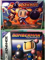 Bomberman Tournament Nintendo Game Boy Advance 2001 Game Box Manual Warranty CIB