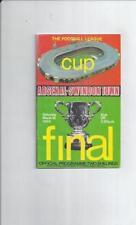 Swindon Town Teams S-Z League Cup Final Football Programmes