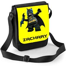 Lego Batman Personalised Shoulder Messenger Bag Ideal Gift Birthday Boys ipad