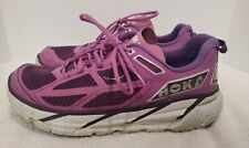 Hoka One One W Clifton Women's Size 9.5 Lavender Running Shoes 20609 031