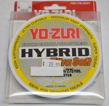 Yo-Zuri Fluoro Carbon/Nylon Blend FISHING LINE HYBRID ULTRA SOFT 275YD - Green