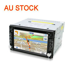 Double 2DIN 6.2'' HD Car Stereo Radio CD DVD MP5 Player FM MP3 GPS NAV Bluetooth