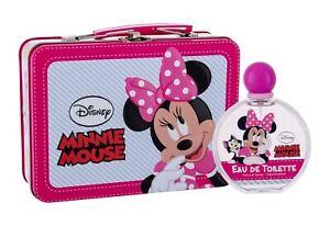 Minnie Mouse by Disney for Kids fragrance Gift Set 3.4oz EDT Spray, Metallic Box