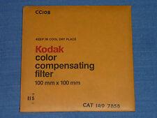 Kodak WRATTEN FILTRI 100x100 CC 10b