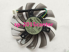 NEW 75mm 12V 3pin T128010SM Fan VGA Video card with 60 days warranty