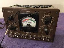 Vintage Weston TV-4 A/U Radio Vacuum Tube Tester