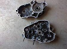 93 Kawasaki KX80,Engine Motor Bottom End Crank Cases Right Left