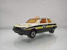 Diecast Majorette Renault 11 Monte Carlo No.275 White Good Condition