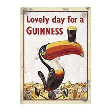 Guinness Stout Advertising Metal Sign Vintage Toucan Garage Shed Garden Plaque
