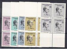 Turkey Scott 1689-1693 Mint NH blocks (Catalog Value $19.60)