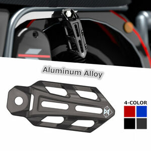 Universal ATV Motorcycle Aluminum Alloy Shock Absorber Protection Cover Case 1PC