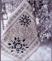Winter Joy - lovely pieced & applique quilt PATTERN - Border Creek Station
