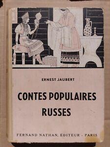 """CONTES ET LEGENDES  """" CONTES POPULAIRES RUSSES """" par E. JAUBERT  NATHAN"""