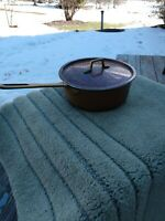 Copper Sauce Pan With Lid