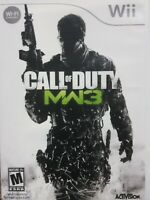 Call of Duty: Modern Warfare 3 - Nintendo  Wii Game
