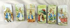 Peter Rabbit Mini Slide / Slider Top Tins - Pill Box / TIcket / Rizla Tin - BNWT
