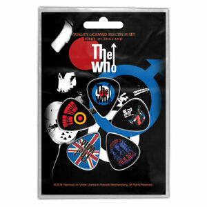 The Who - Guitar Pick Set - 5 Picks-Pete-UK Import - Licensed New In Pack