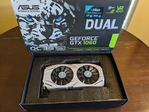 Asus Nvidia GeForce GTX 1060 Dual 3GB Graphics Card GPU