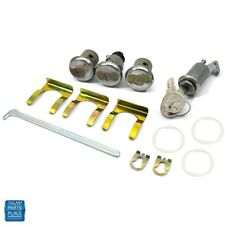 1965-1966 Impala Caprice Bel Air Glovebox Trunk & Door Lock Kit Later Key 180
