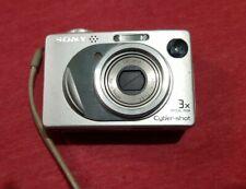 Vintage Sony Cyber-Shot DSC-W1 Digital Camera 3x Optical Zoom WORKS