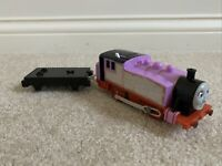 Trackmaster Thomas & Friends ROSIE 2009 Motorized Train Engine with Flatbed Car