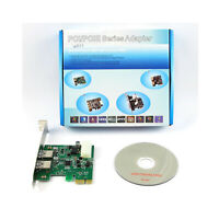 2-Port USB 3.0 PCI-Express PCIe Adapter Controller Card Adapter
