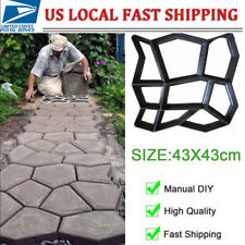 DIY Driveway Paving Stone Mold Concrete Stepping Pathmate Pavement Mould Paver