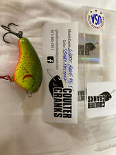 Coulter Cranks Ron E Bee Specs Custom Balsa Wood Crankbait Fishing  Wart Hawg
