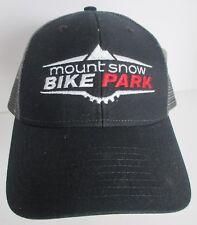 Mount Snow Bike Park Hat Cap Vermont Mt USA Embroidery Trucker Snapback