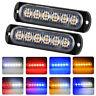 6-LED Car Tow Truck Emergency Beacon Warning Hazard Flash Strobe Light Bar 12V