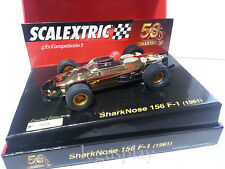 """Slot SCX Scalextric A10106S300 SharkNose 156 F-1 """"50 Aniversario"""""""