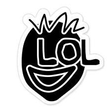 "LOL car bumper sticker decal 5"" x 4"""