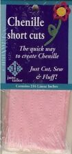 Pink Chenille Short Cuts 216 linear inches  June Tailor