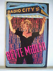 EXPERIENCE THE DIVINE Playbill BETTE MIDLER Radio City Music Hall NYC 1993